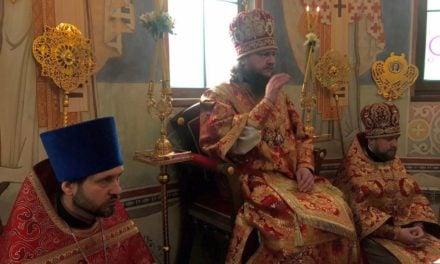 Архиепископ Феодосий совершил Литургию в день памяти святителя Николая Чудотворца (+ВИДЕО)