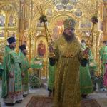 Архієпископ Феодосій звершив святкове богослужіння у День Святого Духа (+ВІДЕО)