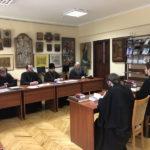 Архієпископ Феодосій провів ставленицький іспит для кандидатів на рукоположення у священний сан в м.Києві
