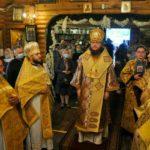 В Неділю Всіх святих архієпископ Феодосій очолив престольне свято в Всіхсвятському храмі на Лісовому кладовищі