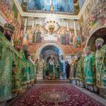 Напередодні дня пам'яті прп.Антонія Печерського архієпископ Феодосій співслужив Предстоятелю у Києво-Печерській Лаврі (+ВІДЕО)