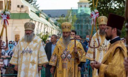 Напередодні свята Хрещення Русі архієпископ Феодосій співслужив Предстоятелю у Києво-Печерській Лаврі (+ВІДЕО)