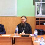 Архієпископ Феодосій взяв участь у роботі атестаційної комісії КДАіС по захисту бакалаврських робіт