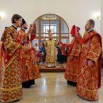 Архієпископ Феодосій очолив богослужіння престольного свята у храмі св.Косьми і Даміана на Оболоні (+ФОТО)
