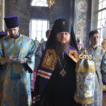 В день малого престольного свята архієпископ Феодосій очолив Літургію в Хрестовоздвиженському храмі м.Києва