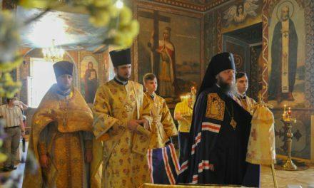 Архиепископ Феодосий совершил Литургию в Неделю 7-ю по Пятидесятнице