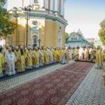 Архієпископ Феодосій співслужив Предстоятелю УПЦ на святковій Літургії в Києво-Печерській Лаврі (+ВІДЕО)