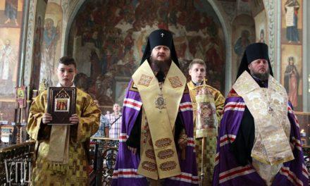 Архиепископ Феодосий возглавил молебен по случаю Дня независимости