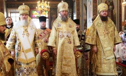 Архиепископ Черкасский и Каневский Феодосий принял участие в торжествах Кировоградской епархии (+ВИДЕО)