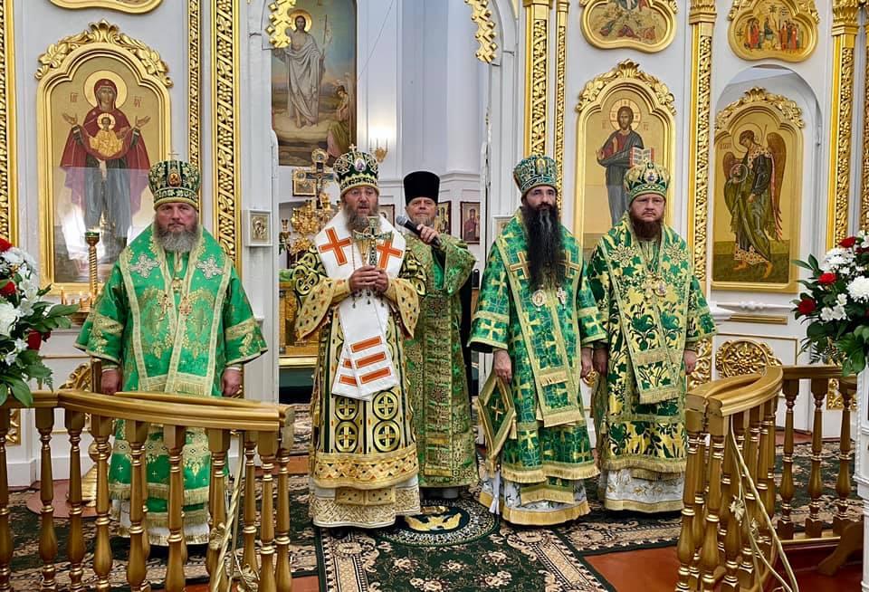 Архиепископ Феодосий принял участие в праздновании 30-летия со дня открытия Браиловского монастыря Винницкой епархии - ЧЕРКАССКИЙ БЛАГОВЕСТНИК