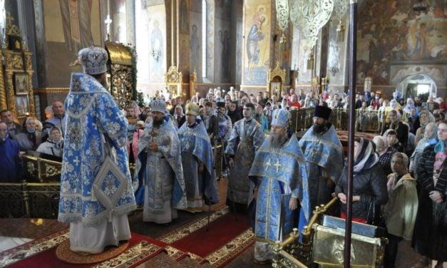 Архієпископ Феодосій очолив Літургію у день свята Різдва Богородиці