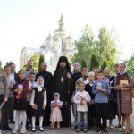 Архієпископ Феодосій зустрівся із педагогами та вихованцями Православної загальноосвітньої школи що у с.Думанці