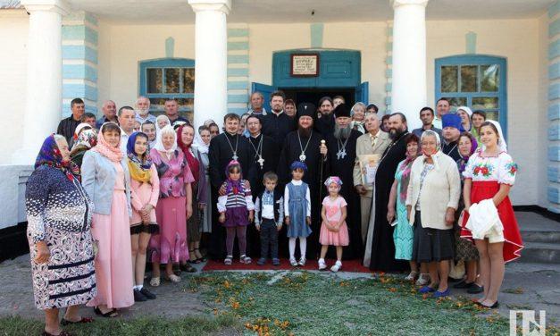 Архієпископ Феодосій освятив храм на Чорнобаївщині