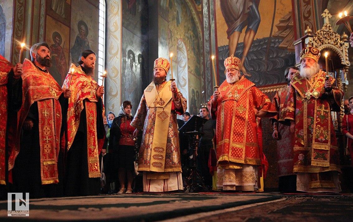Соборное богослужение в канун дня памяти преподобномученика Макария - ЧЕРКАССКИЙ БЛАГОВЕСТНИК