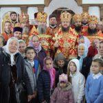У день пам'яті святих мучениць Віри, Надії, Любові та матері їх Софії архієпископ Феодосій очолив храмове свято у Черкасах
