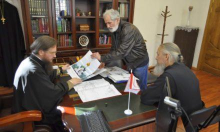 Архієпископ Черкаський і Канівський Феодосій надав благословення на будівництво каплиці на заводі «Азот»
