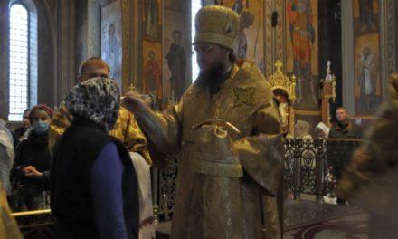 Архиепископ Феодосий совершил всенощное бдение накануне Недели 18-й по Пятидесятнице