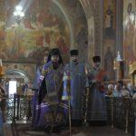Архієпископ Феодосій звершив всенічне бдіння напередодні свята Покрова Пресвятої Богородиці