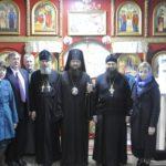 Архієпископ Черкаський і Канівський Феодосій очолив богослужіння престольного свята в храмі ап.Луки