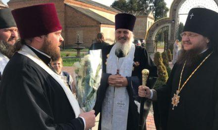 Архієпископ Феодосій освятив нову трапезну при Вознесенському храмі пгт.Стеблів і взяв участь в парафіяльному святі