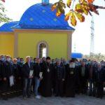 Архієпископ Феодосій освятив капличку на честь Покрова Пресвятої Богородиці на території пожежної частини, яка забезпечує безпеку черкаського «Азоту»