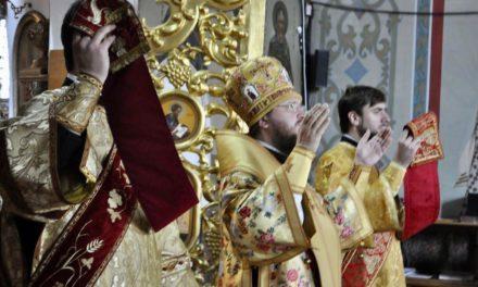 Архиепископ Феодосий совершил Литургию в Неделю 20-ю по Пятидесятнице