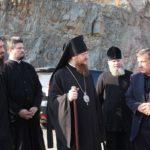Архієпископ Феодосій відвідав унікальний куточок Черкащини – Малобузуківський гранітний кар'єр
