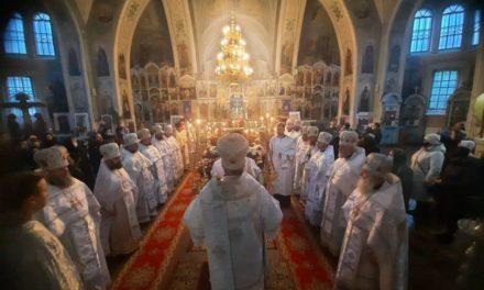 Черкаська єпархія простилася зі спочилим благочинним Золотоніського округу