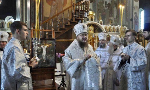 Архієпископ Феодосій звершив освячення новонаписанної ікони св.мч.Даниїла Мліївського для кафедрального собору Черкас