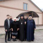 Високопреосвященніший архієпископ Феодосій оглянув перший в нашій єпархії православний будинок-інтернат у Драбові