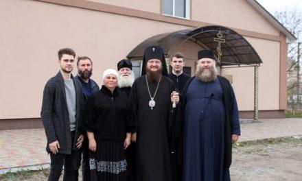 Высокопреосвященнейший архиепископ Феодосий осмотрел первый в нашей епархии православный дом-интернат в Драбове