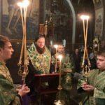 Архієпископ Черкаський і Канівський Феодосій очолив соборний акафіст прпмч.Макарію біля його святих мощів