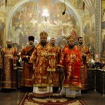 Архієпископ Феодосій очолив всенічне бдіння напередодні престольного свята в Свято-Архангело-Михайлівському соборі