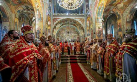 В кафедральном Свято-Михайловском соборе Черкасс отметили главный храмовый праздник