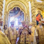 У 30-ту річницю архієрейської хіротонії Предстоятеля УПЦ архієпископ Феодосій співслужив Блаженнішому митрополиту Онуфрію в Києво-Печерській лаврі (+ВІДЕО)