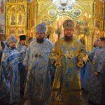 Архієпископ Черкаський і Канівський Феодосій очолив Літургію у столичному Свято-Введенському Обиденному храмі