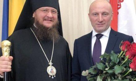 Архиепископ Черкасский и Каневский Феодосий поздравил новоизбранного мэра Черкасс Анатолия Бондаренко