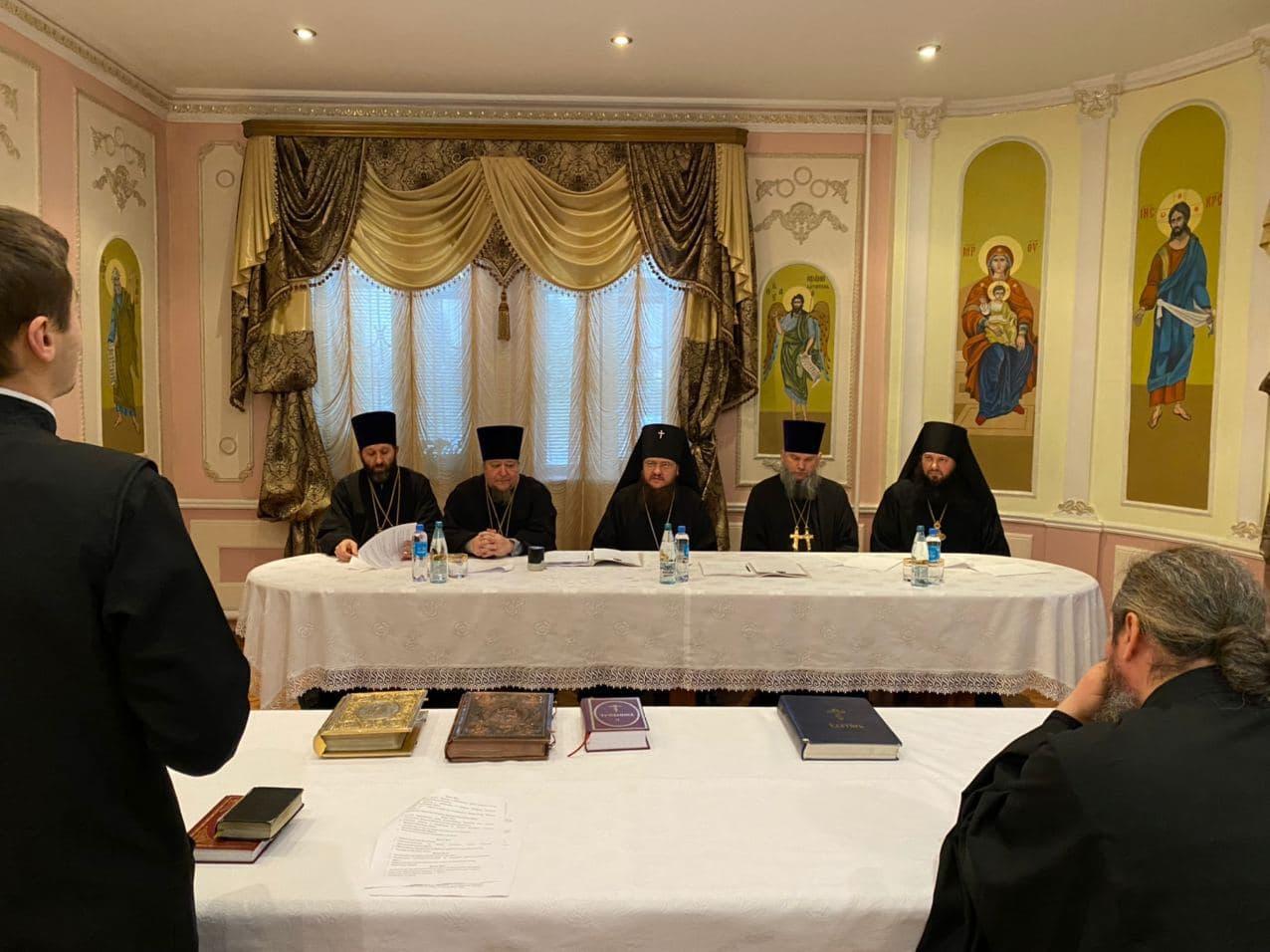 Архиепископ Черкасский и Каневский Феодосий провёл первое заседание Ставленической Комиссии Черкасской епархии