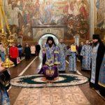Архієпископ Феодосій звершив всенічне бдіння напередодні свята Введення в храм Пресвятої Богородиці