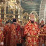 Високопреосвященніший архієпископ Феодосій звершив Літургію в історичному Михайлівському храмі міста Городище