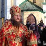 Архієпископ Феодосій підніс молитви до святого мученика Даниїла Мліївського