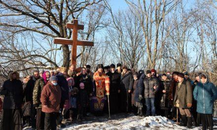 Архиепископ Феодосий освятил лесной источник, которым пользовались еще насельницы Свято-Успенского Ирдынского Виноградского монастыря
