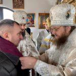 Архієпископ Черкаський і Канівський Феодосій освятив пам'ятний храм-каплицю на місці Медведівського Пустинно-Миколаївського монастиря