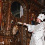 Архієпископ Феодосій освятив новий іконостас в Успенському соборі міста Золотоноша