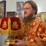 Архієпископ Черкаський і Канівський Феодосій звершив Божественну літургію в храмі при 1-й міській лікарні Черкас