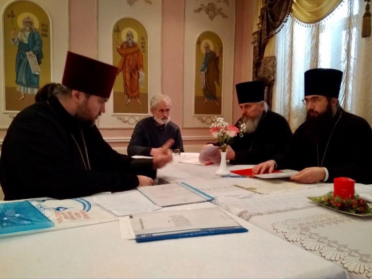 Состоялось первое заседание Архитектурно-строительной комиссии Черкасской епархии