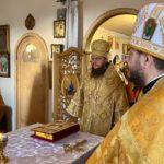 Архієпископ Черкаський і Канівський Феодосій звершив Божественну літургію в храмі на честь ікони Божої Матері «Страсна» м.Черкаси