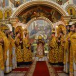 Архієпископ Черкаський і Канівський Феодосій звершив Божественну літургію в Новорічну ніч