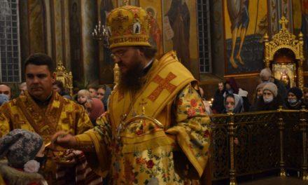Архієпископ  Феодосій звершив всенічне бдіння напередодні неділі 30-ї після П'ятидесятниці