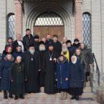Высокопреосвященнейший архиепископ Феодосий совершил Литургию в храме в честь иконы Божией Матери «Казанская» города Чигирин